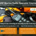 VHF Marine Radio Operator Course Galway City Sailing Club